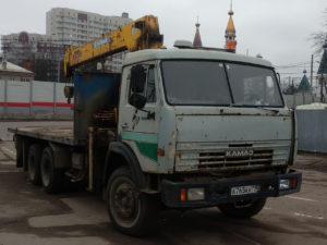 Аренда манипулятора КАМАЗ 65115